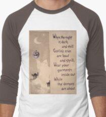 The Ghost & The Pumpkin (Vintage Halloween Card) T-Shirt