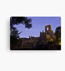 Kirkstall Abbey 4189-A Cistercian monastery Leeds West Yorkshire Canvas Print