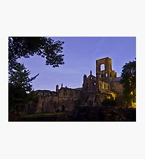 Kirkstall Abbey 4189-A Cistercian monastery Leeds West Yorkshire Photographic Print
