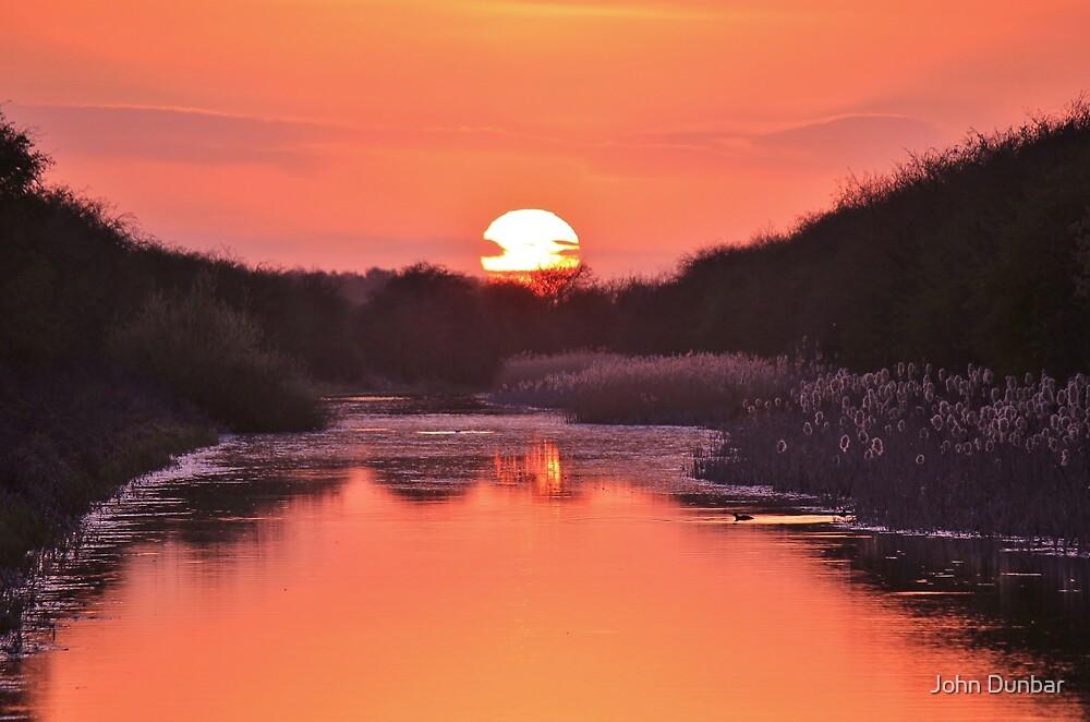 Dipping the Sunset by John Dunbar