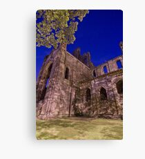 Kirkstall Abbey Cistercian monastery Leeds West Yorkshire Canvas Print