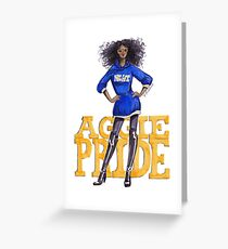 A&T Diva Greeting Card