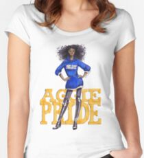 A&T Diva Women's Fitted Scoop T-Shirt