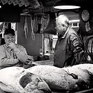 Observing the Catch - Japan by Norman Repacholi