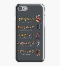 Final Fantasy VI to X iPhone Case/Skin