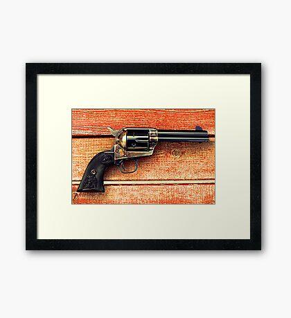 Colt 45 Framed Print