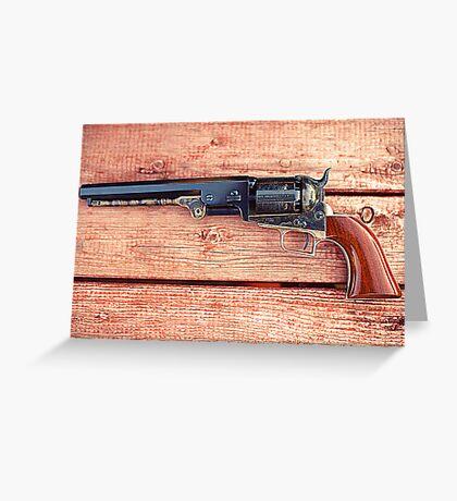 1851 Colt Navy Greeting Card