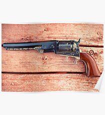 1851 Colt Navy Poster