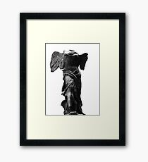 Nike the winged goddess of victory Framed Print