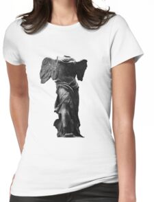 Nike the winged goddess of victory Womens Fitted T-Shirt