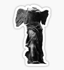 Nike the winged goddess of victory Sticker