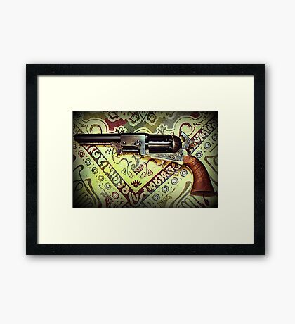 Colt 2nd Model Dragoon Framed Print