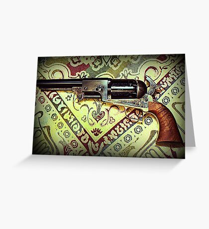 Colt 2nd Model Dragoon Greeting Card