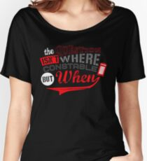 The question isn't where, but when ! Women's Relaxed Fit T-Shirt