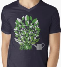 OXFAM: GROW Mens V-Neck T-Shirt