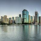 Dawn in the City by Stephen  Nicholson