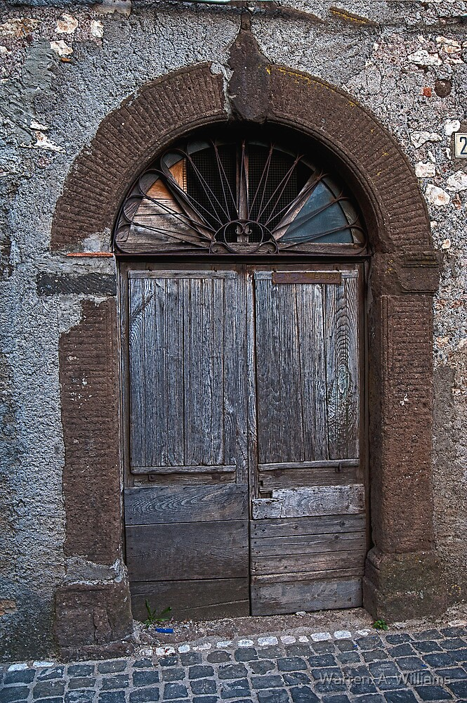 Segni Doors in Italy by Warren. A. Williams