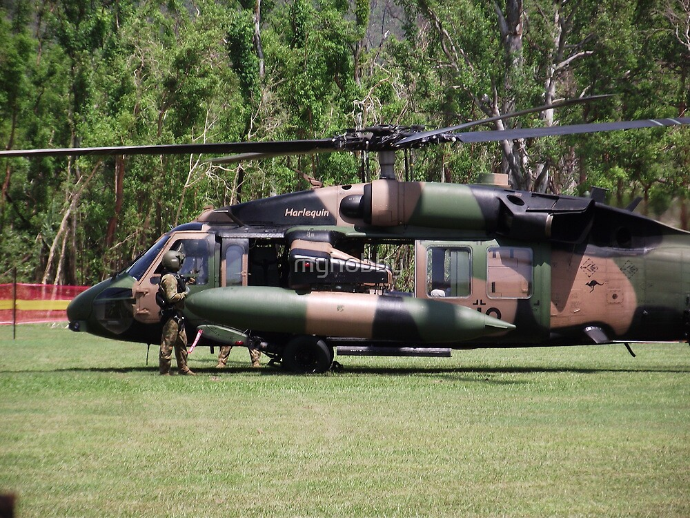Helicopter Prince Williams Visit to Cardwell, North Queensland, Australia 2012 by myhobby