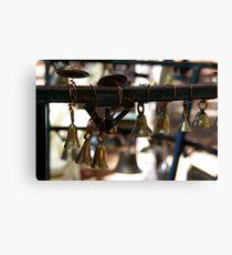 little brass bells Canvas Print
