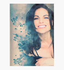 Lana Parrilla #Flowers Photographic Print