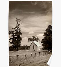 Old church ... Bowning NSW Poster