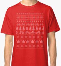 Christmas Cycling Jumper | Red Classic T-Shirt