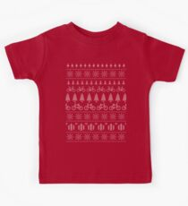 Christmas Cycling Jumper | Red Kids Clothes