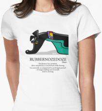 Rubbernozedoze Womens Fitted T-Shirt