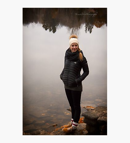 Rox by the Lake Photographic Print