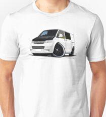VW T5 (A) White Unisex T-Shirt