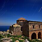 Startrails over Hagia Sophia - Monemvasia by Hercules Milas