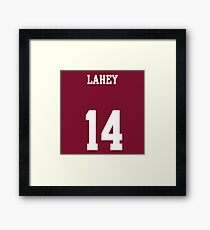 LAHEY - 14 Framed Print