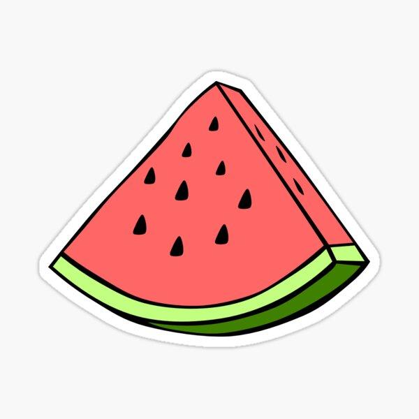 Wassermelonen-Aufkleber Sticker