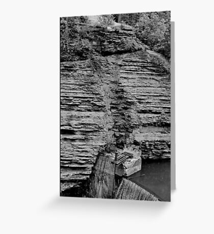 Ithaca Dam Greeting Card