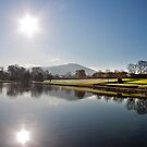 Bessbrook Pond by stevieblack