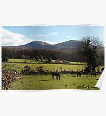 Mourne Mountains Poster