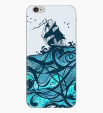 Upon The Sea iPhone Case