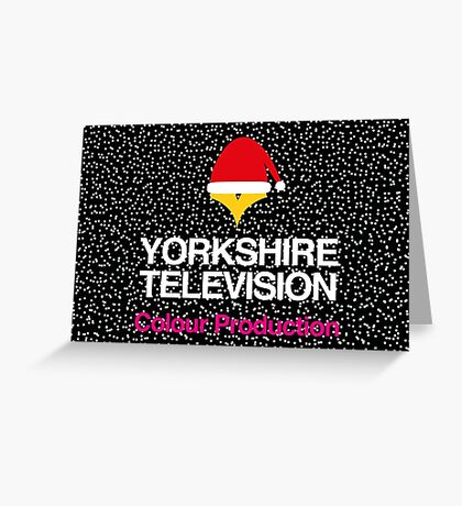 NDVH Christmas Yorkshire Television Greeting Card