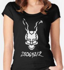 Donnie Darko Outline Women's Fitted Scoop T-Shirt