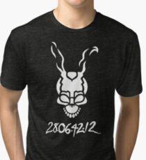 Donnie Darko Outline Tri-blend T-Shirt