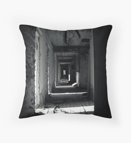Your Room is the Last on the Left Throw Pillow