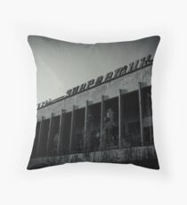 Cultural Palace Throw Pillow