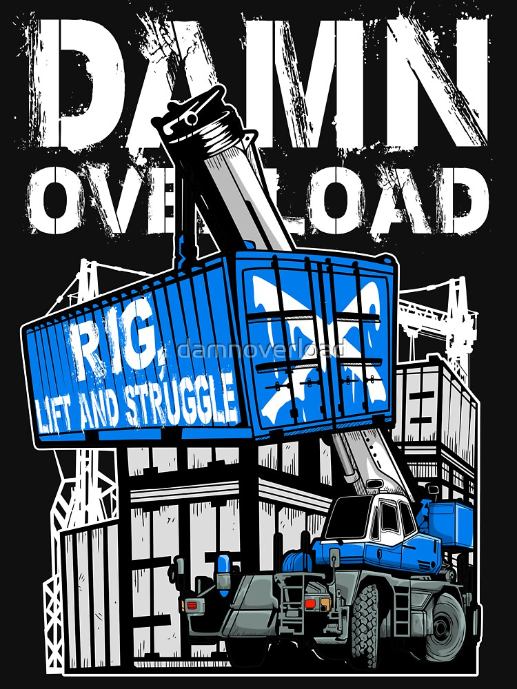 Rig Lift and Struggle by damnoverload