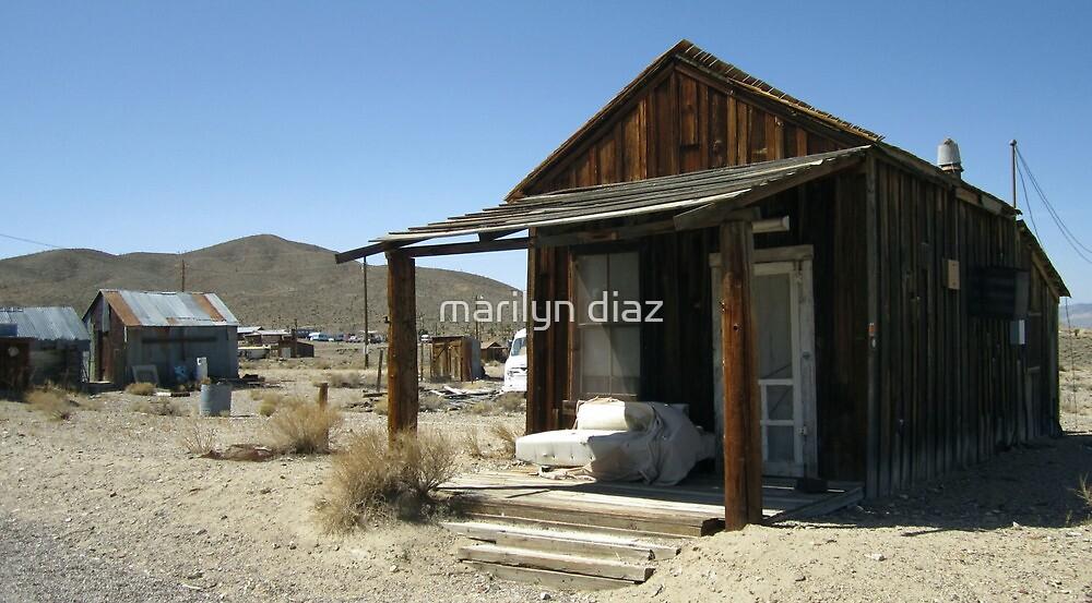Gold Point Dwelling by marilyn diaz