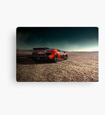 McLaren P1 | Black Rock Canvas Print