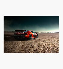 McLaren P1 | Black Rock Photographic Print