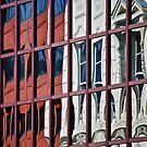 City Reflection by richard  webb