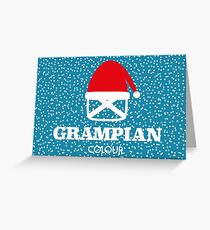 Christmas Grampian Greeting Card