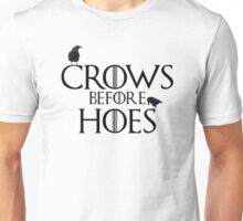 Crows Before Hoes Unisex T-Shirt