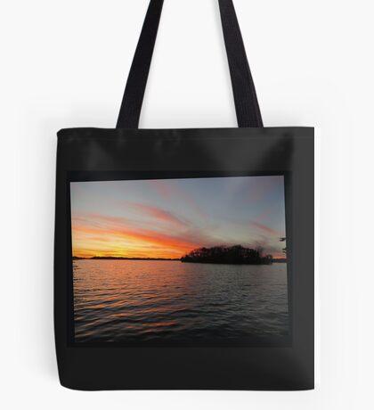Rocket Powered Island Tote Bag
